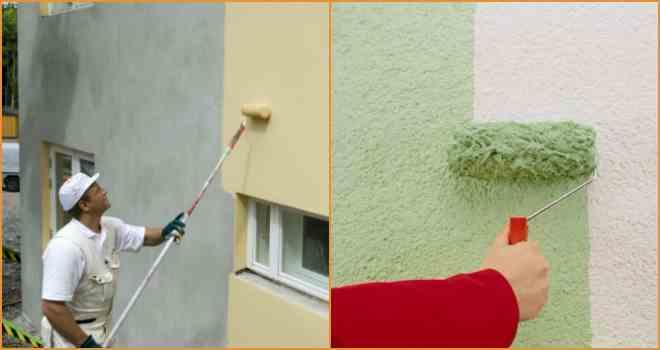 Kombinasi Warna Cat Rumah Hijau Lumut pekerjaan eksterior dengan cat fasad apa itu cat eksterior